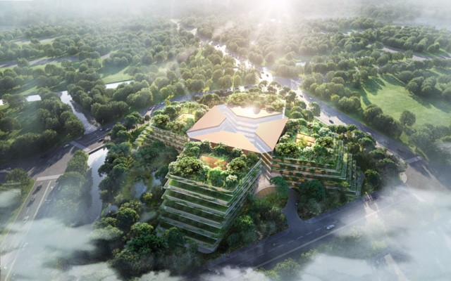 Foster + Partners' innovative hospital design in Shanghai
