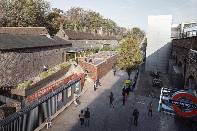 The Museum of the Home re-designed for more footfall