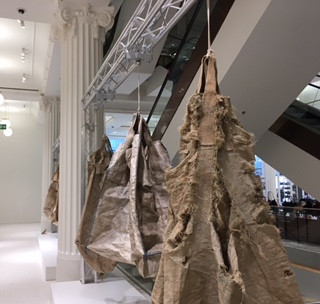 Selfridges' art installations question luxury