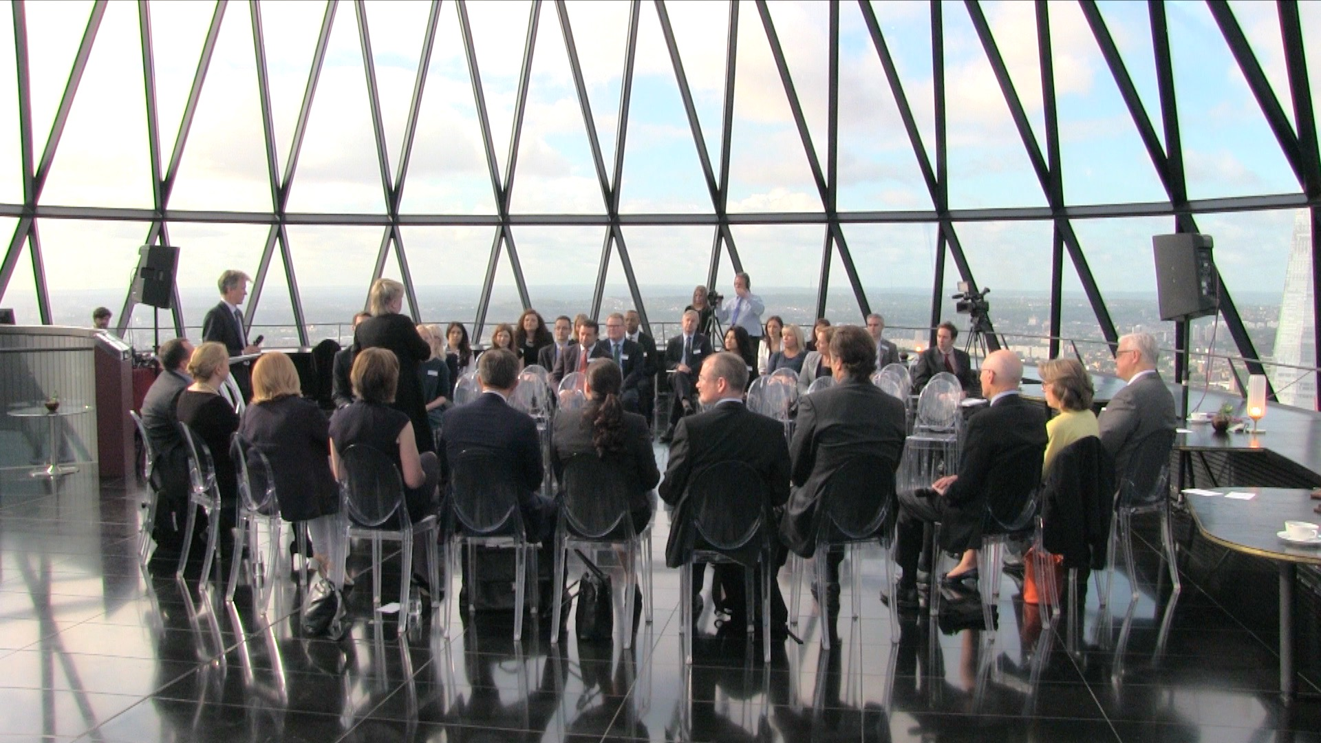 Forum June 2015 at the Gherkin