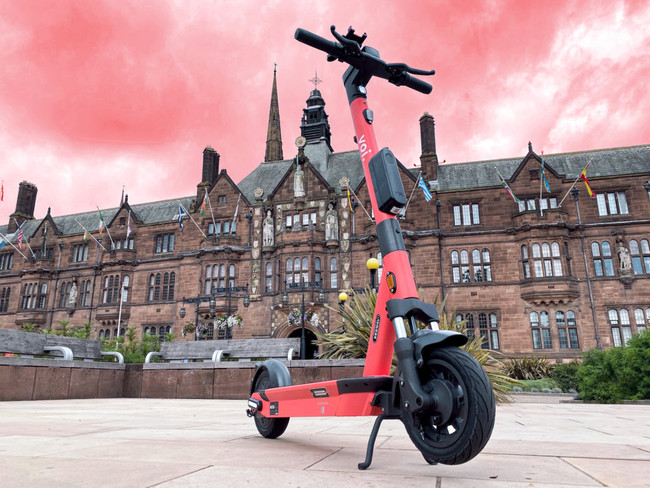 Swedish Voi e-scooter trial for West Midlands