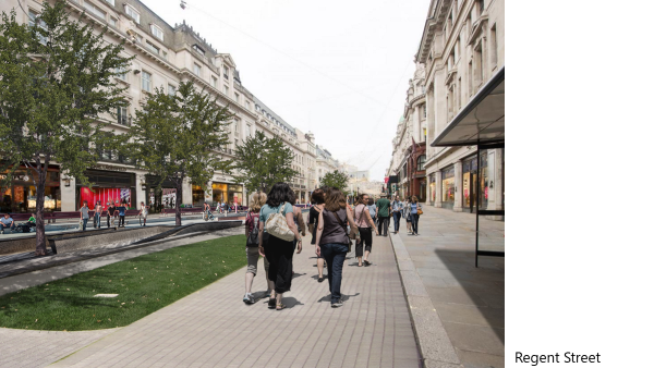 Pedestrianising the city