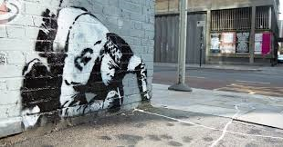 Restored Banksy art and public realm