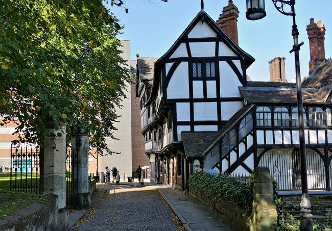 Coventry preserves historic houses for year of culture