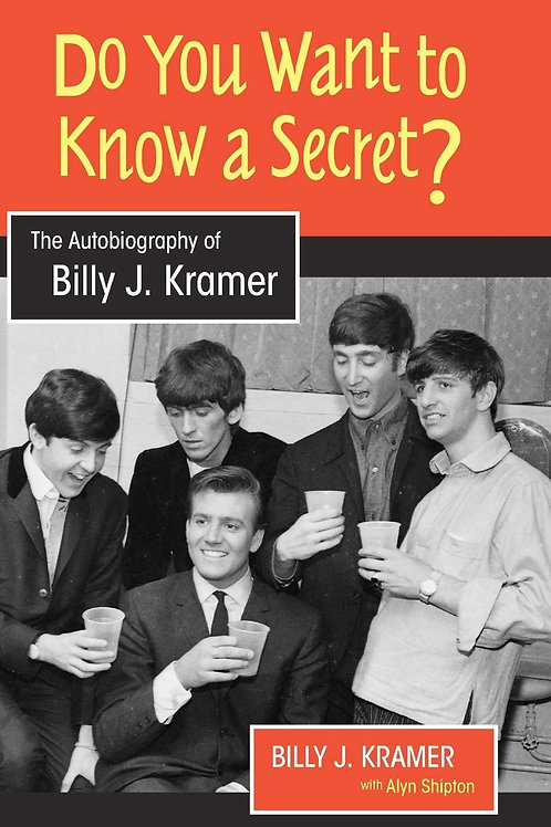 Do You Want To Know A Secret book, autographed