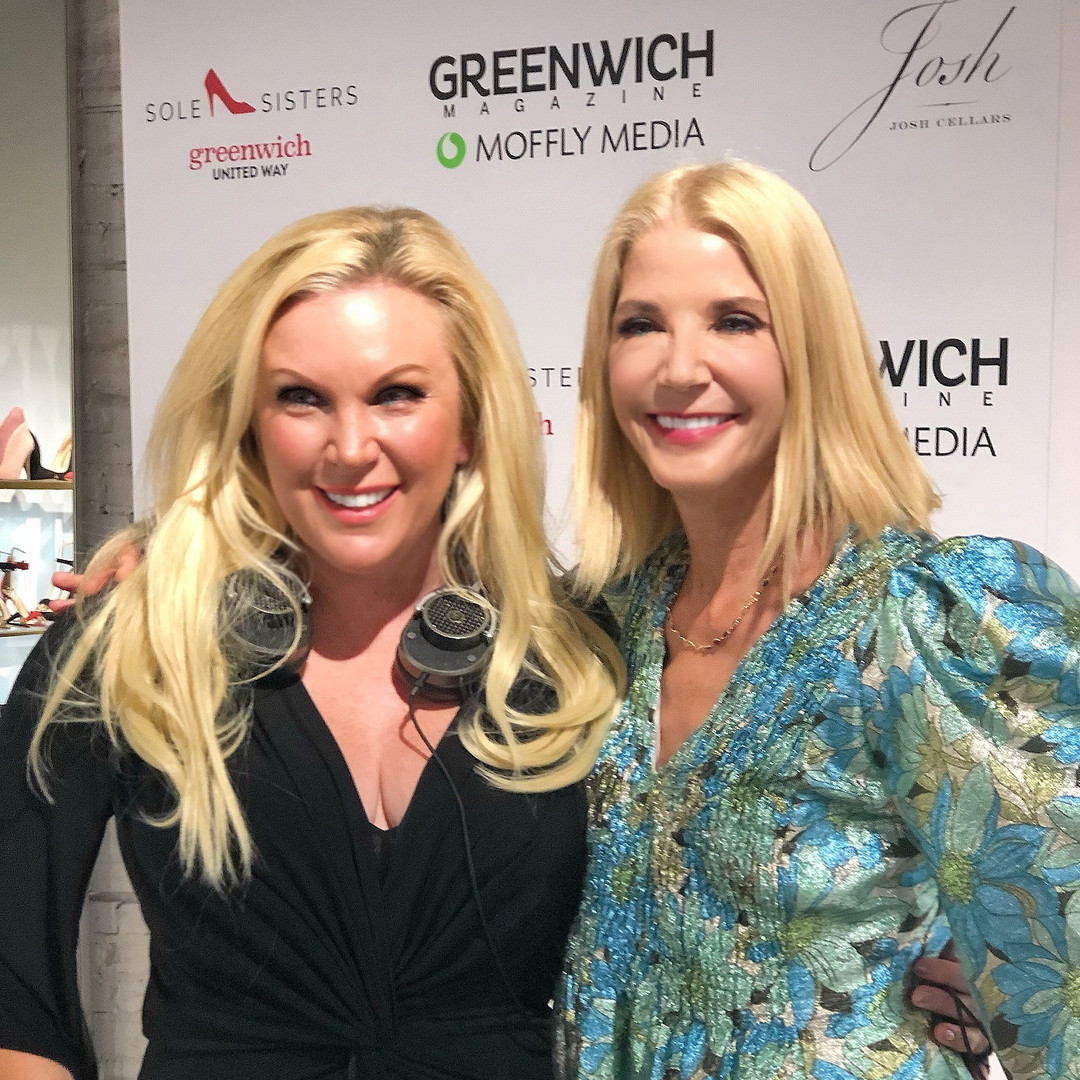 Sex in the City book launch w/ Candace Bushnell