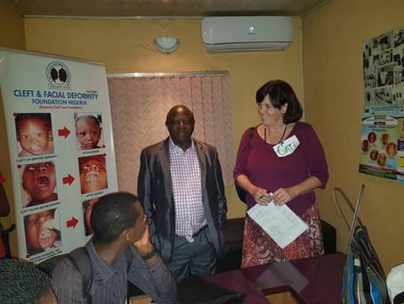 CFDF/ICA hosts Speech therapy training.