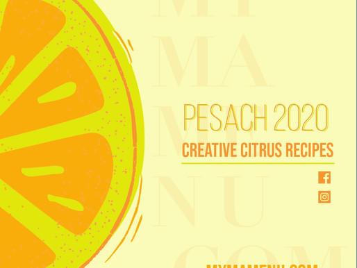 Creative Citrus Recipes - Pesach 2020