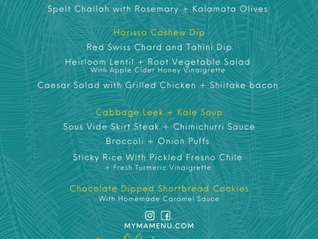 Sukkot Dinner 9/20/2021 Outdoor Dining Done Right!