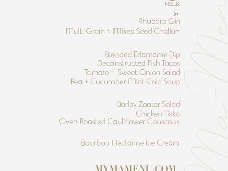 Shabbat Dinner 8.2.19