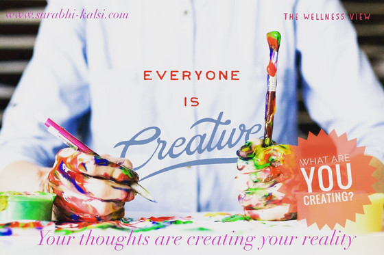 Everyone is Creative! What are you creating?
