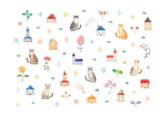 星降る猫の街