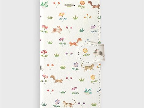 アークフィリア 様「Diary Case Collection Spring-Summer2017」にスマホケースのデザインを提供