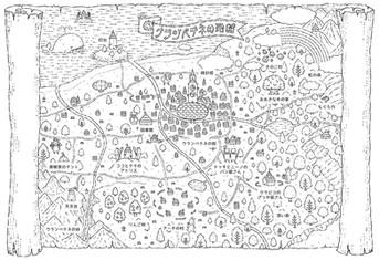 クランペテネの地図