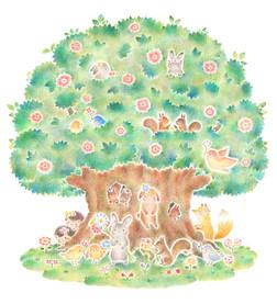 動物たちの大きな木の家 No. 2