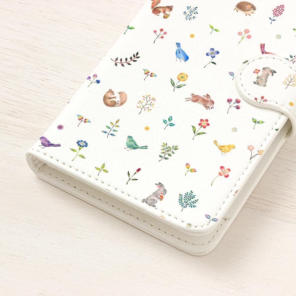 """絵本のかけら。手帳型スマホケース """"動物たちの幸せなひととき"""" TSC-425"""