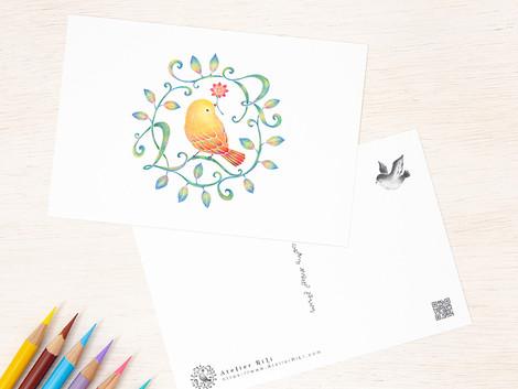 iichiの特集「夏の贈り物、夏のお便り」でアトリエ リリの作品をご紹介いただきました
