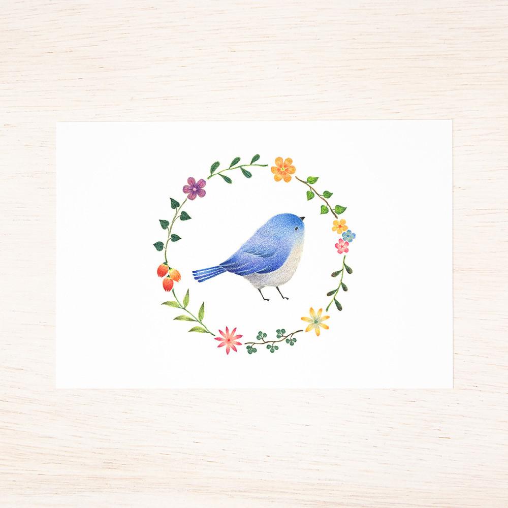 """詩画集 """"鳥の声 花の詩"""" PB-A51"""