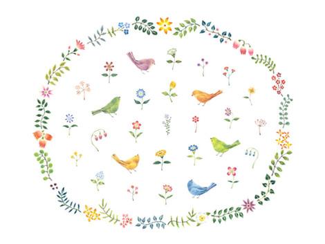 「心うるおう 小鳥ガーデン 2017」に出品参加いたします