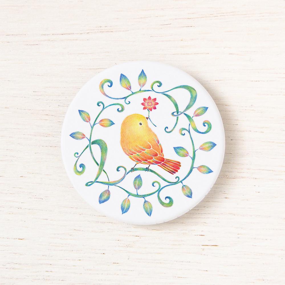 """""""黄色い鳥と蔓 Ver. 4"""", BB-R44 474"""