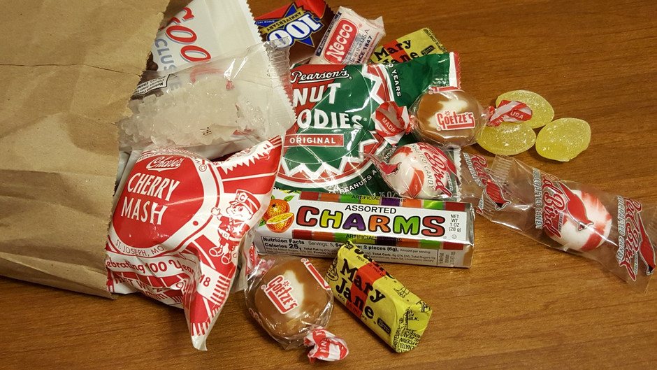 Behind the Scenes of BREATHE: Retro Candy from 1918
