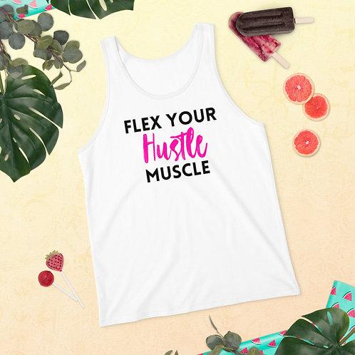 Hustle Muscle Pink Tank