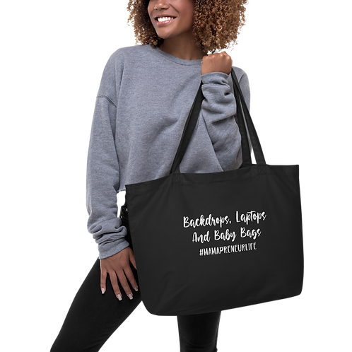 Backdrops, Laptops, & Baby Bags Tote