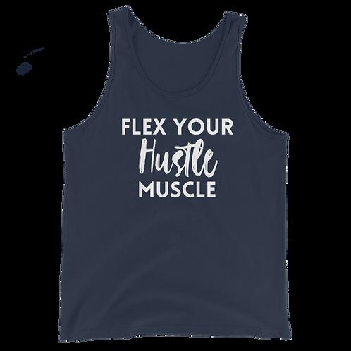 Flex Your Hustle Muscle Tank 2