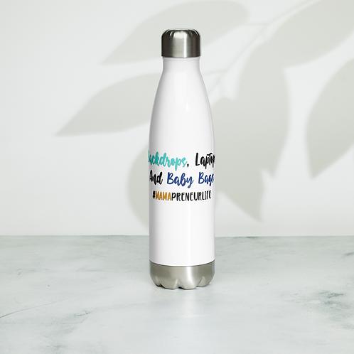 Backdrops, Laptops, & Baby Bags Water Bottle