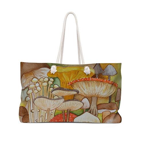 Mushroom Ink Study Weekender Bag