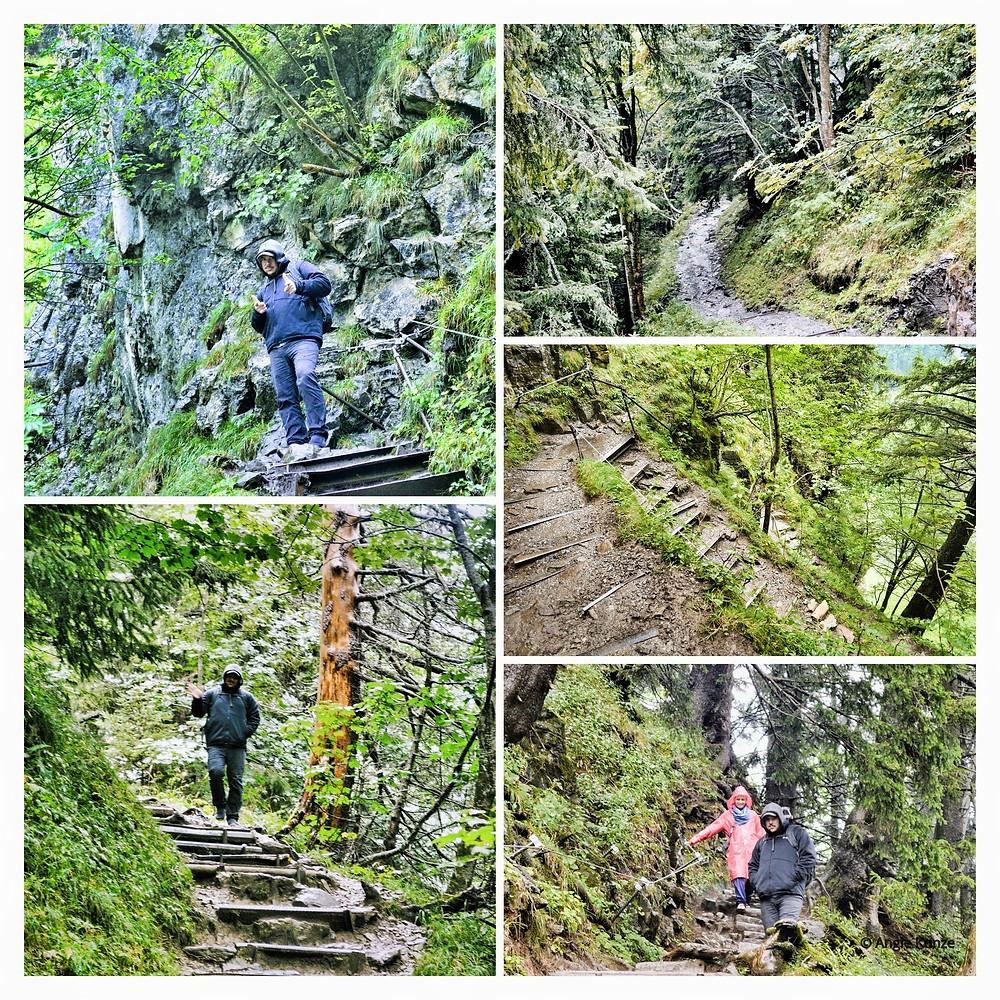 Ebenalp, Wasserauen, Seealpsee, Swiss Mountain hike