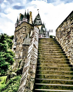 """berg eltz castle"" wierschem, germany"