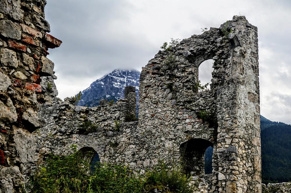 Ehrenberg castle ruins, Ruette Austria