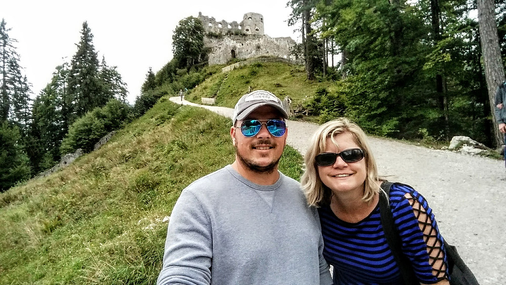 Ehrenberg castle ruins, Ruette Austria, Angie Kunze travel blogger, creative photographer at Toto, We're Not in Kansas Anymore