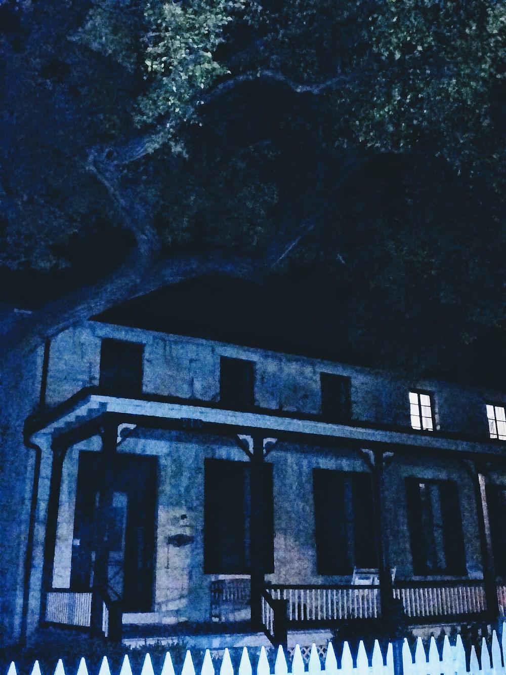 Ft. Riley Kansas Historical Society Ghost Tour sights, main post, Custer House