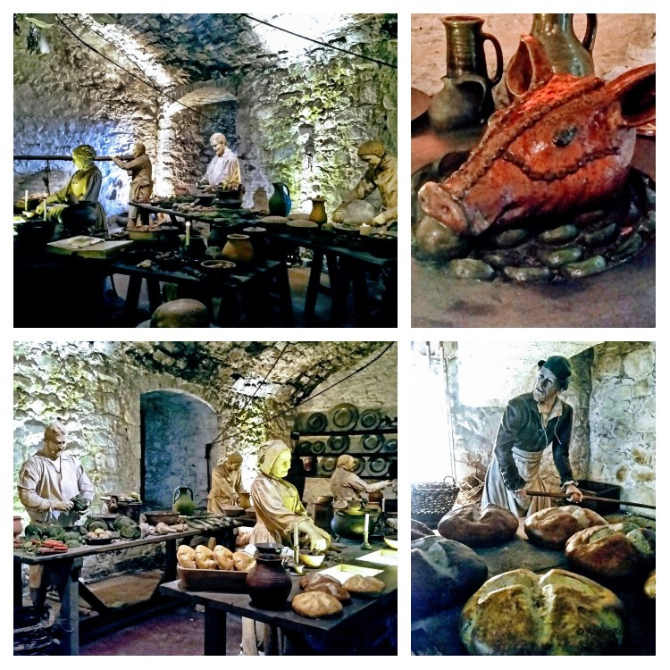 kitchens in Stirling Castle Scotland