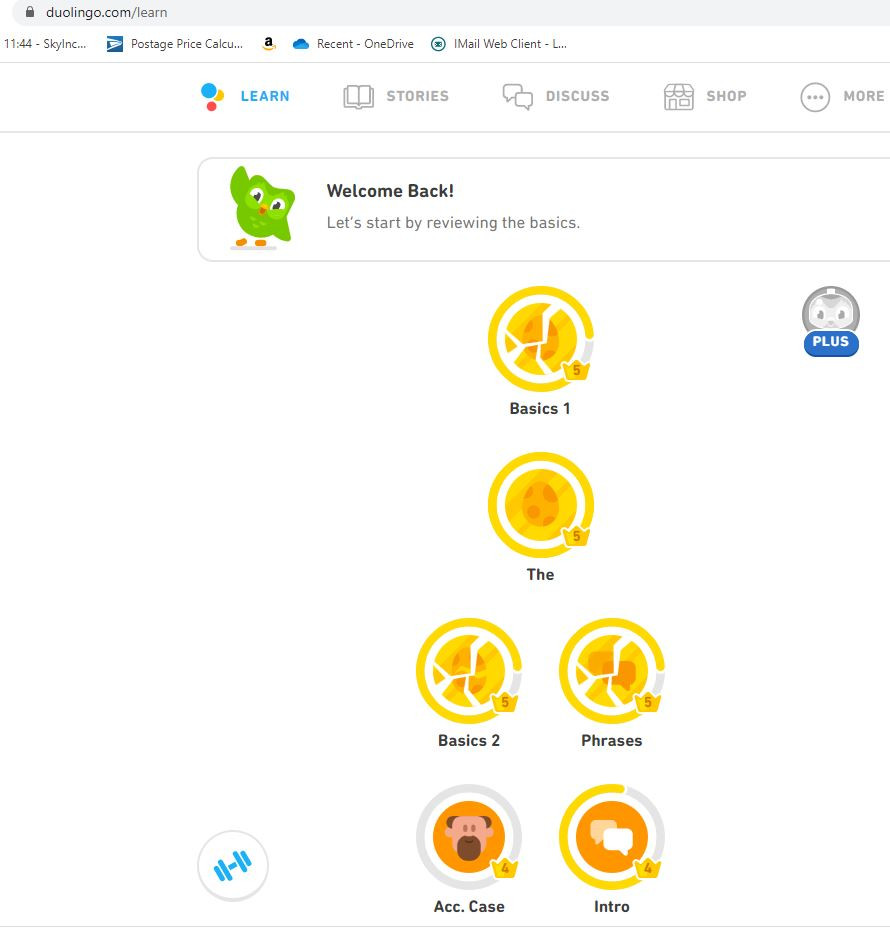 Duolingo a fun and effective way to learn to read write and speak a new language!