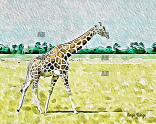 """giraffe"" paint style"