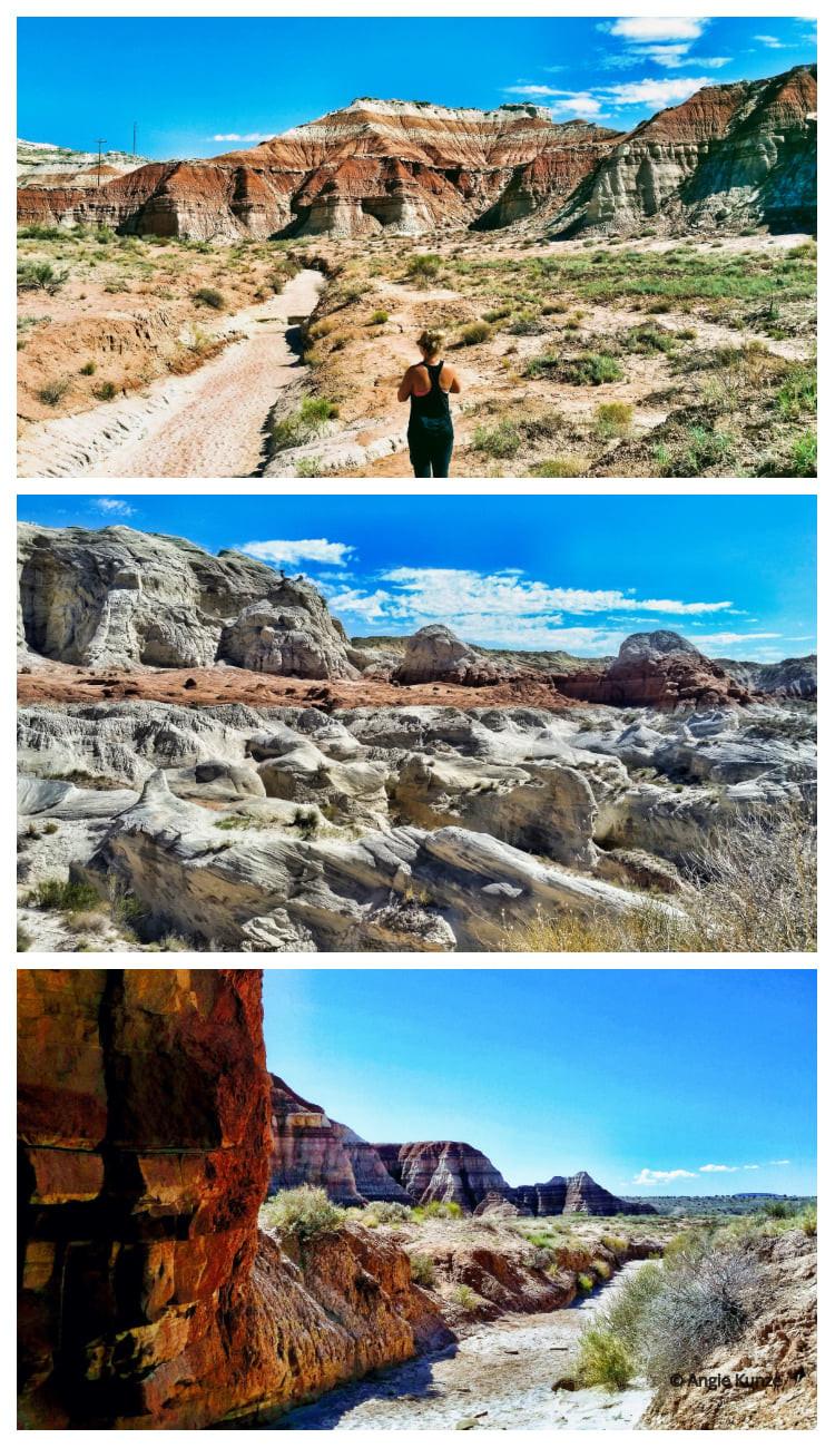 Toadstool Hoodoos Hiking trail near Kanab Utah