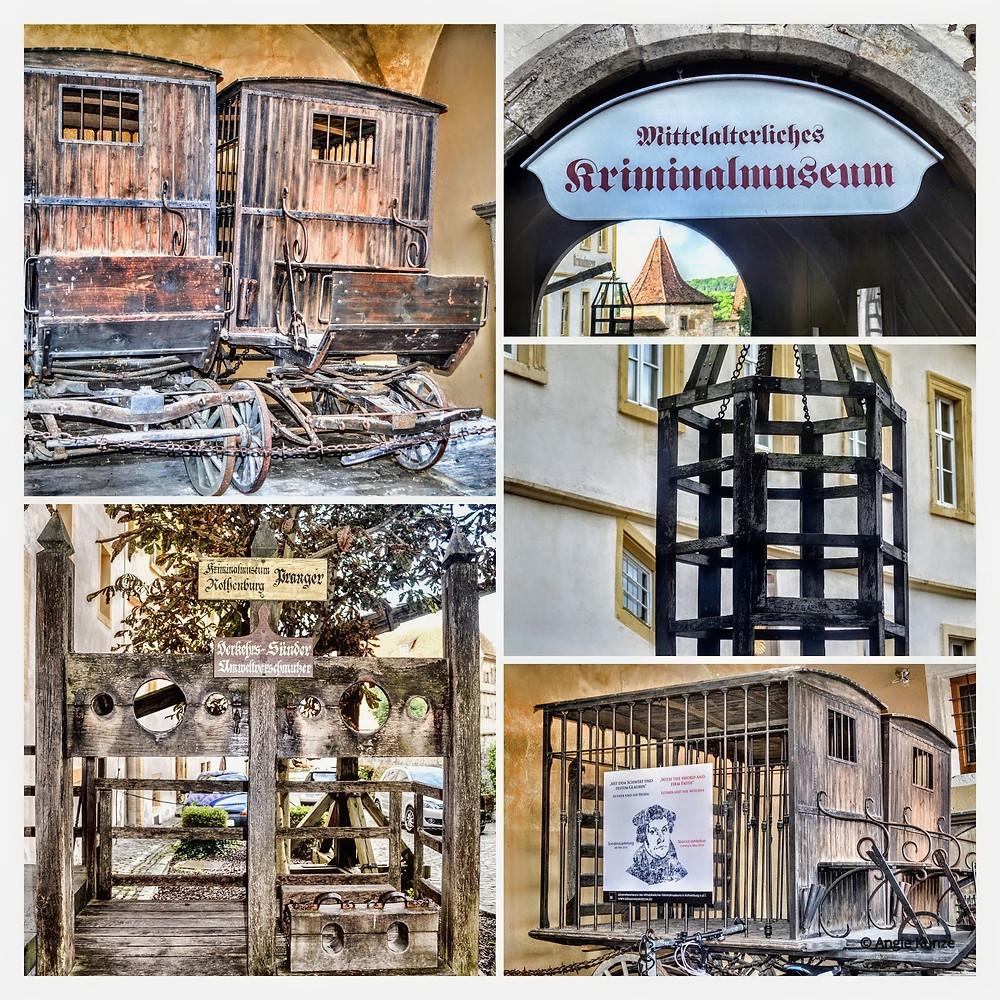Medieval Crime and Justice Museum, Rothenburg ob der Tauber, Bavaria Germany.