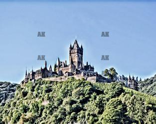 cochem castle 3, germany