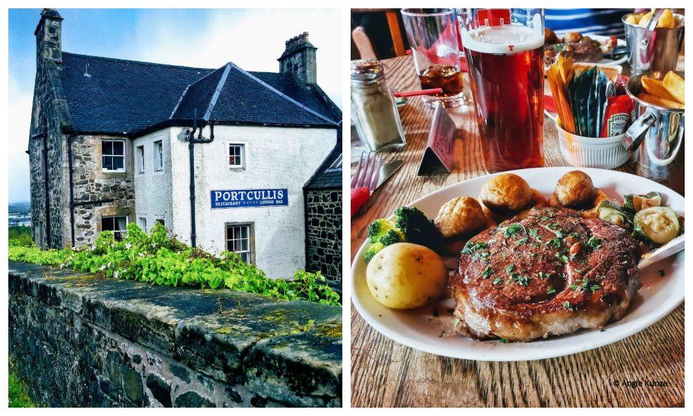 The Portcullis restaurant and Inn, Stirling Scotland