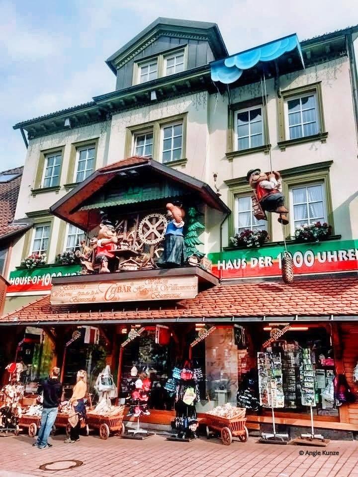 cuckoo clock shops Hauptstrasse Triberg Germany, Black Forest