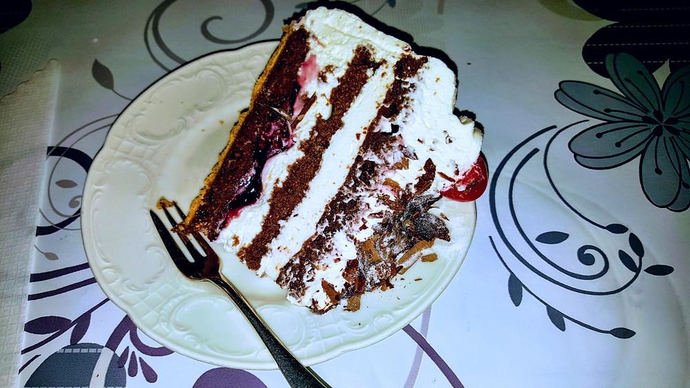 Black Forest cake (Schwarzwälder Kirschtorte) Cafe Schafer