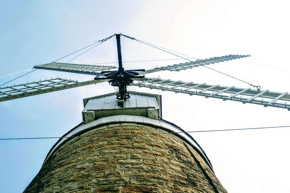 Schonhoff Dutch Mill, City Park Wamego Kansas, Pottawatomie County, dutch pioneers in Kansas, travel visit Kansas