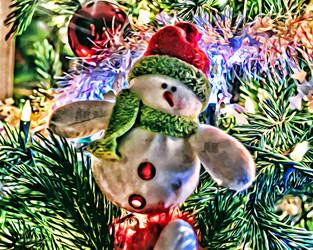 """tree snowman"""