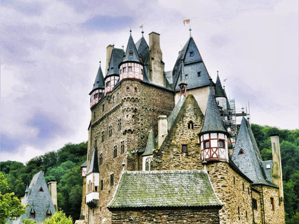 Berg Eltz Castle, Germany: a fairy tale castle nestled in a fairy forest