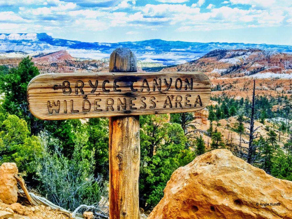Bryce Canyon National Park National park sign Utah