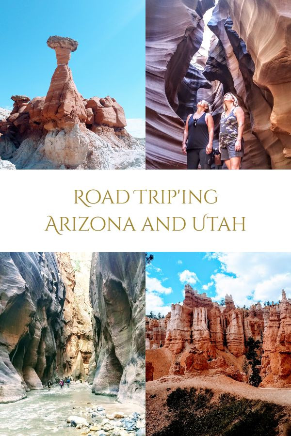 Road trip ideas Arizona and Utah