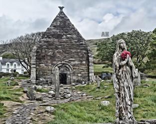 """kilmalkedar church"" #2 dingle peninsula ireland"